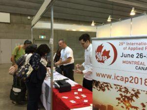 Registration at a pre-congress event symposium.
