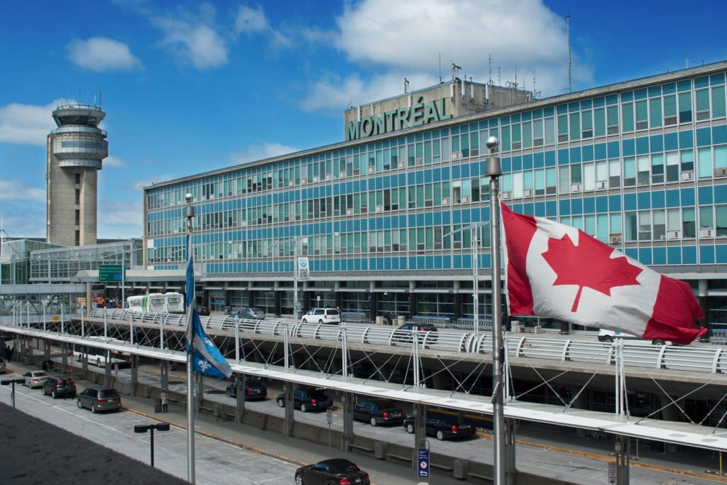 The Pierre-Elliott Trudeau International Airport.